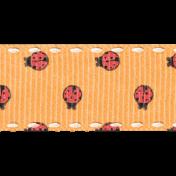 Garden Tales Elements- Ladybugs Ribbon
