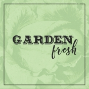 Garden Tales Journal Cards- Garden Fresh 4x4