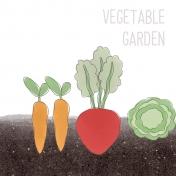 Garden Tales Journal Cards- Vegetable Garden 4x4