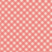 Garden Tales Papers- Red Gingham Paper