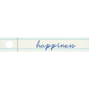 PS Good Vibes Happiness Word Art Tag