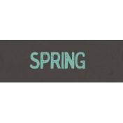 Garden Tales WordArt- Spring