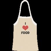 Food Day- I love Food Apron