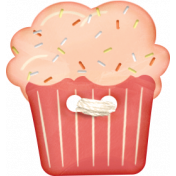 Food Day- Cupcake Button