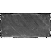 Food Day- Blank Chalk Label
