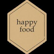 Food Day- Happy Food Tag