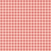 Food Day- Red Gingham Paper