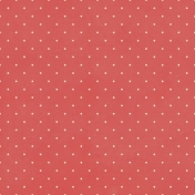 Food Day- Red Hexagon Dotted Paper
