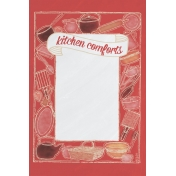 Food Day- Kitchen Comforts Journal Card 4x6