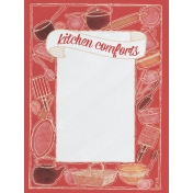 Food Day- Kitchen Comforts Journal Card 3x4