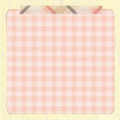Food Day- Gingham Journal Card 4x4