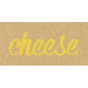 Food Day- Cheese Word Art
