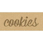 Food Day- Cookies Word Art