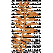 Fall Flurry Orange Leafy Branch