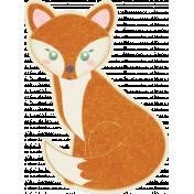 Fall Flurry Fox Sticker