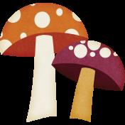 Fall Flurry Mushrooms