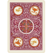 Fall Flurry Playing Card