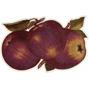 Fall Flurry Apples Sticker