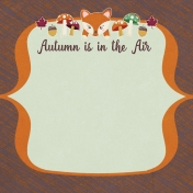 Fall Flurry Autumn is in the Air Journal Cards 4x4