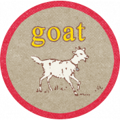 Petting Zoo Goat Tag