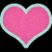 Digital Day Heart Sticker