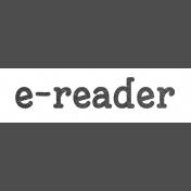 Digital Day E-Reader Word Art