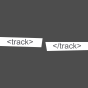 Digital Day Track Word Art Snippets