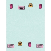 Digital Day Peripherals Journal Card 3x4