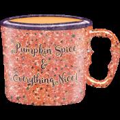 Pumpkin Spice- In the Orchard Pumpkin Handled Mug