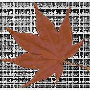 Harvest Pie Brown Leaf