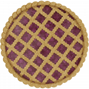 Harvest Pie Lattice Berry Pie