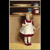 Harvest Pie Vintage Pie Postcard