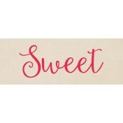 Harvest Pie Word Art- Sweet
