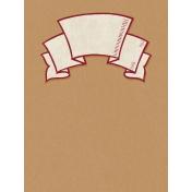 Harvest Pie Banner Journal Card 3x4