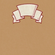 Harvest Pie Banner Journal Card 4x4