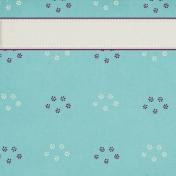Elegant Autumn Floral Journal Card 4x4