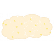 Baby Shower Starry Cloud