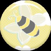 Baby Shower Bee Pin