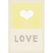 Baby Shower Love Tag