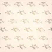 Treasured Polka Dot Scroll Paper