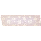 Sunshine and Snow Snowflakes Washi Tape
