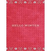 Sunshine and Snow Hello Winter JC 3x4