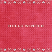 Sunshine and Snow Hello Winter JC 4x4