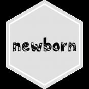 Baby Shower Hexagon newborn Template