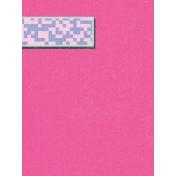 Digital Day Pink Journal Card 3x4