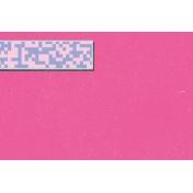 Digital Day Pink Journal Card 4x6