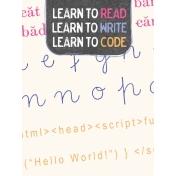 Digital Day Code Journal Card 3x4