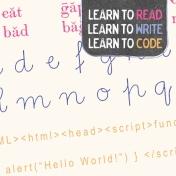Digital Day Code Journal Card 4x4