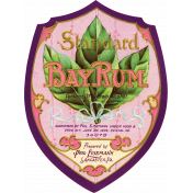Sweets and Treats- Bay Rum Antique Label