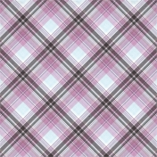 Sweets and Treats- Plaid Paper 07